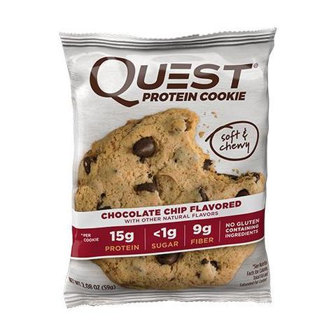 Печенье Chocolate Chip Cookie, Quest Cookie, 59 г