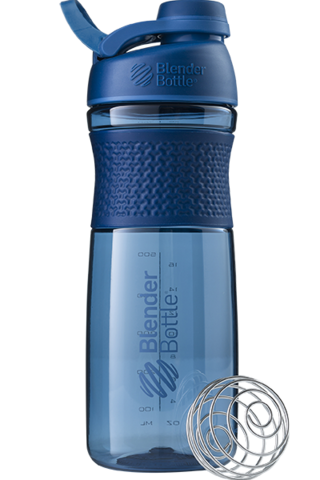 Шейкер Blender Bottle® SportMixer Tritan Twist Cap (Navy - Т. синий), 828 мл