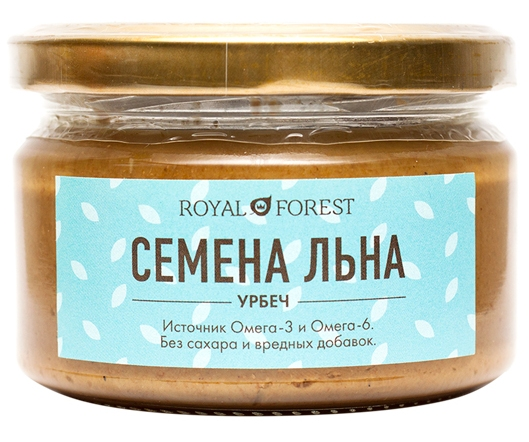 Урбеч из льна Royal Forest