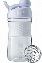 Шейкер Blender Bottle® SportMixer Tritan Twist Cap (Белый), 591 мл